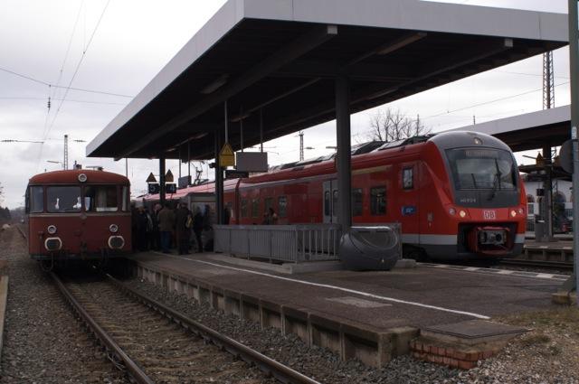 Neue Treibfahrzeuge statt alten Schienenbus